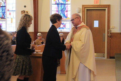 Father Brassard Installation