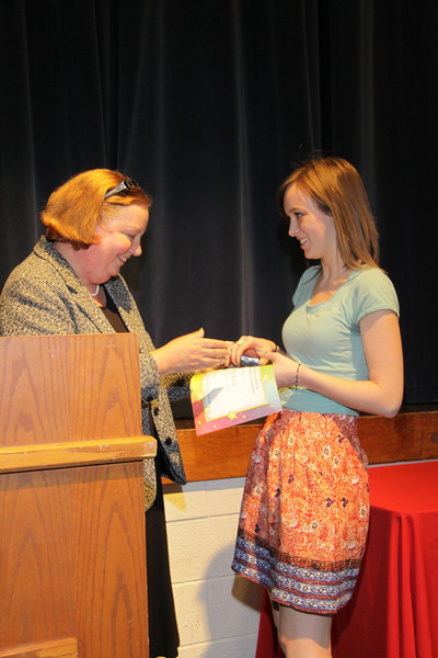 Awards Night 2012 - Student of the Year: Sewing Clothes & Accessories