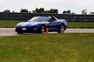 2020 SCCA TNiA June Pitt Race Blue Vette