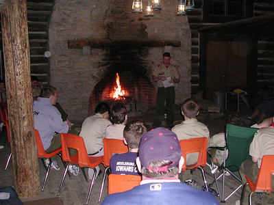 Scout camp fatherson cosi trip 2003