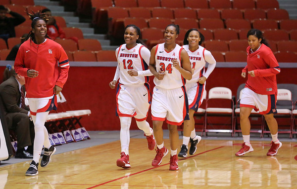UH WBB vs SMU 2014
