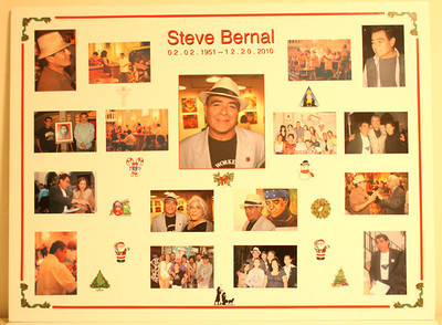 STEVE BERNAL MEMORIAL BOARD