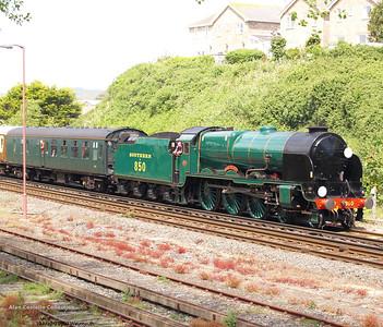 Dorset Coast Express 19th May 2007