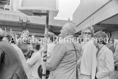 Labour Party rally in Friars Square, June 1970
