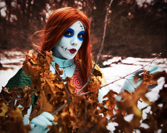 Starlot Cosplay as Sally from Nightmare Before Christmas