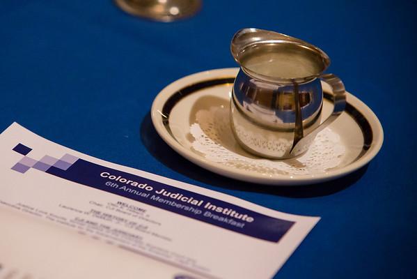 Colorado Judicial Institute Annual Membership Meeting