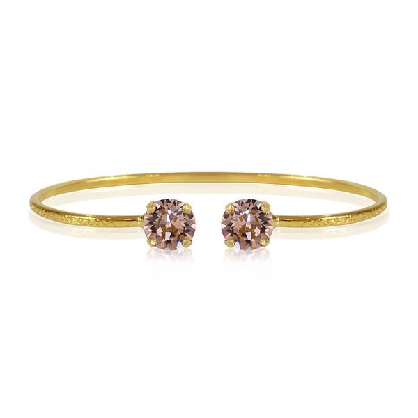 Petite Stud Bracelet / Vintage Rose Gold