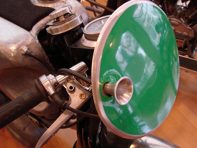 1955 NSU Sportmax air intake