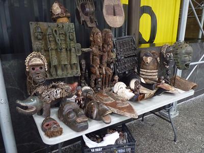 Feb 11 Mon  2013 IBRAHIM CAMARA:  Fine African Masks