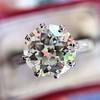 2.03ct Art Deco Transitional Cut Diamond Solitaire 15