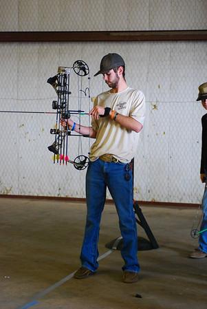 Archery practice 022414