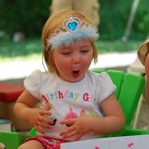 Morgan's Second Birthday