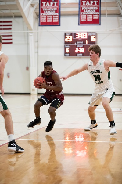 2/6/19: Boys' Varsity Basketball v Deerfield