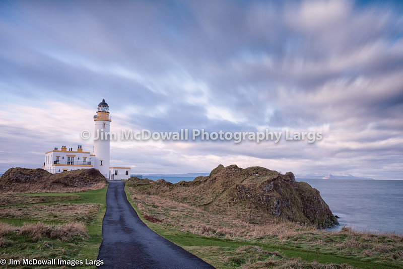The  Ancient Lighthouse at Turnberry in South Ayrshire at Trump Turnberry Resort.