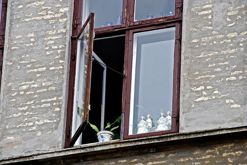 Little People in the Window