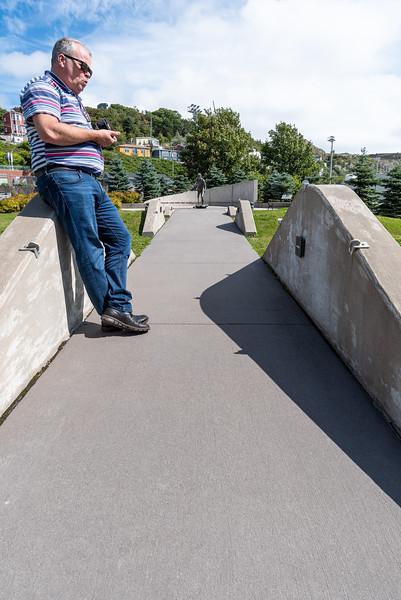 Terry Fox monument, St. Johns
