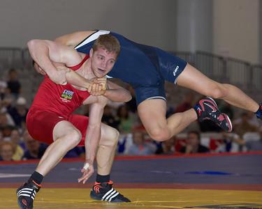 Greco-Roman Championships 66 Kg: Mark Rial (Gator Wrestling Club) def Jake Deitchler Dec 5-4,1-1