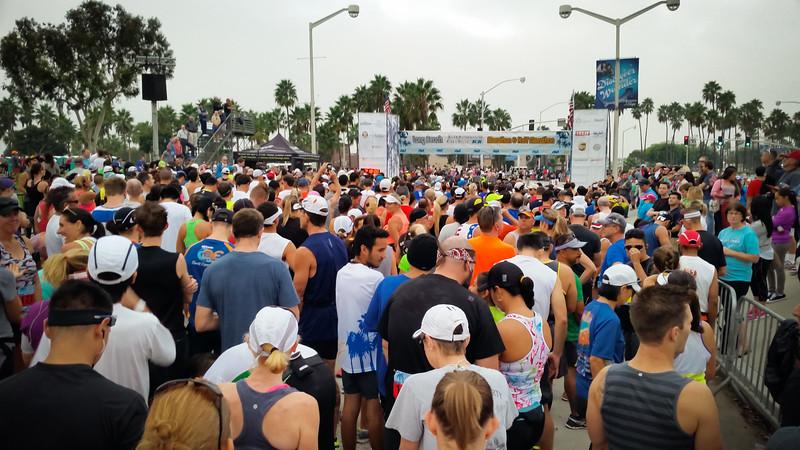 2014 10/13: Long Beach Half Marathon