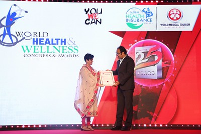 Dr Prem Jagyasi at World Health and Wellness Congress
