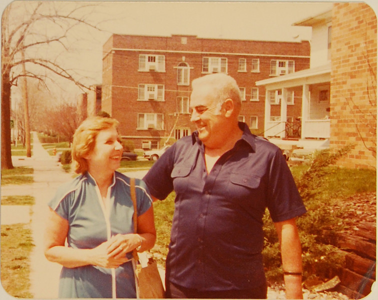 Probably the best shot of Grandma and Opa I've ever seen.