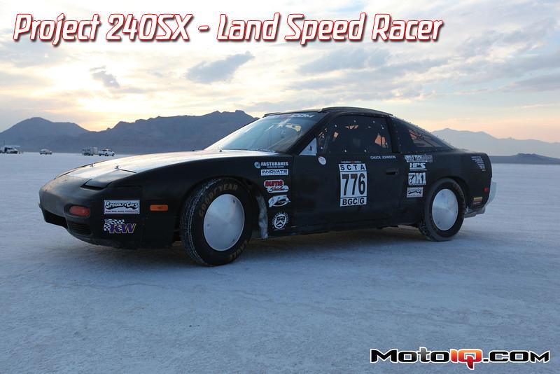 bonneville speed week 2012 project 240sx lsr chuck johnson land speed racer