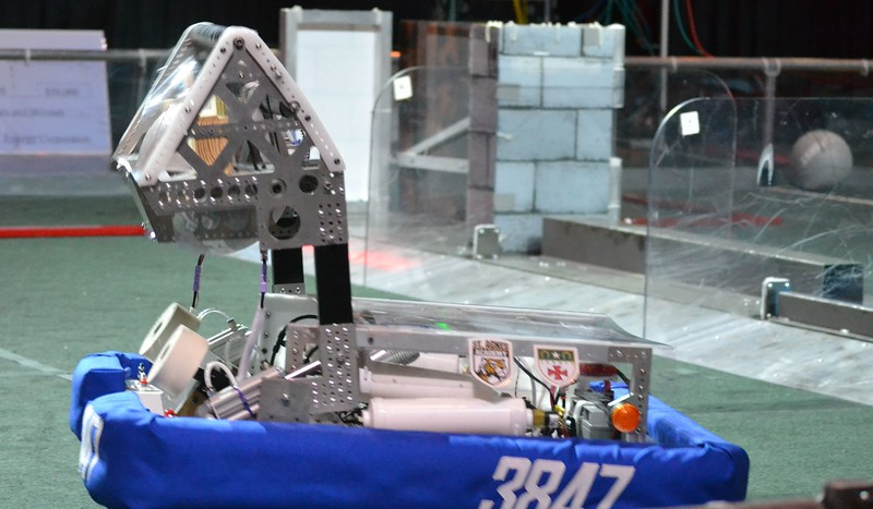 2016 FIRST Bayou Regional Robotics - Spectrum 3847 - 782