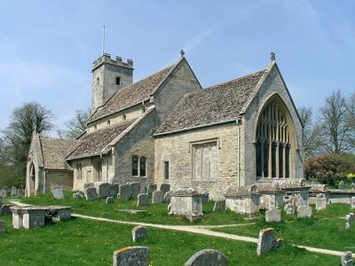 St Mary, Church of England, Pebble Court, Swinbrook, OX18 4DY