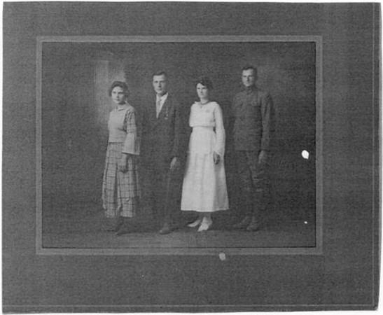 Hazel, Allen, Maggie and Ben Maxfield