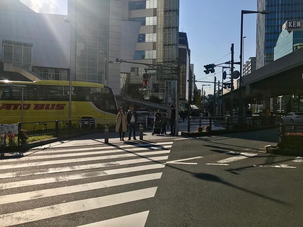 A crossing.