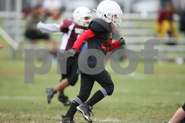 5th Grade-Odessa Bulldogs Black vs Warrensburg Rattlers 10-3-09