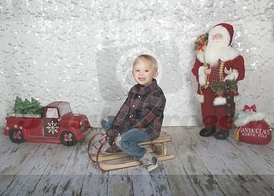 Micah Christmas Photos