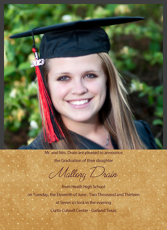 Mallory2 Cap & Gown 2013