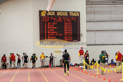 Boys' 60 Meters - 2014 MITS State Meet