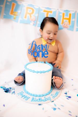 Liam 1st Birthday Smash