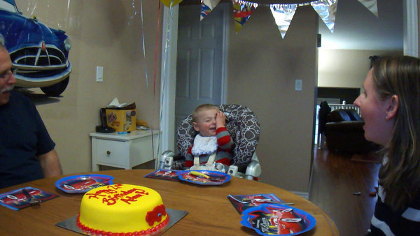 Adam's Second Birthday