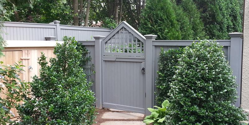 185 - Bronxville NY - Custom Traditional & Lattice Gate