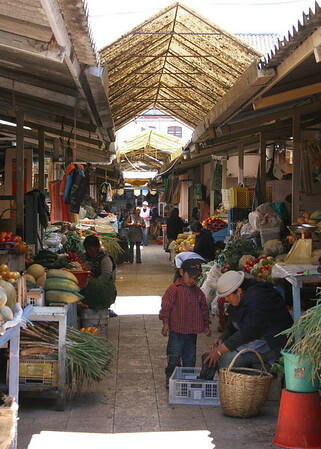 Otavalo, Ecuador, market place - 9/10/10
