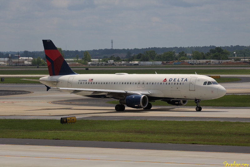 Airbus A320-212  s/n 367 N339NW Delta