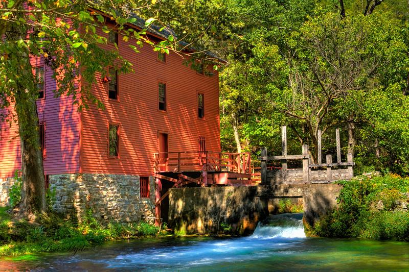 Alley Spring Mill, Missouri