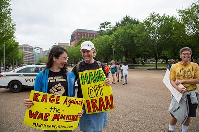 MOP No War on Iran, Washington DC, July 8
