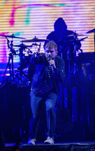 Gorillaz perform at KeyArena in Seattle