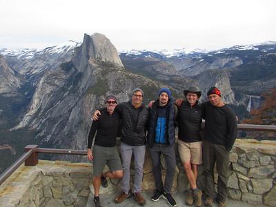 Yosemite Day Hikes: Jan 13-15, 2018