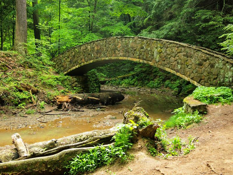 Bridge in Hocking Hills