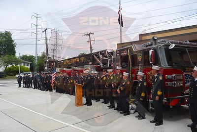 Levittown F.D. Dedication and Wet Down for Ladder 626  6/26/21
