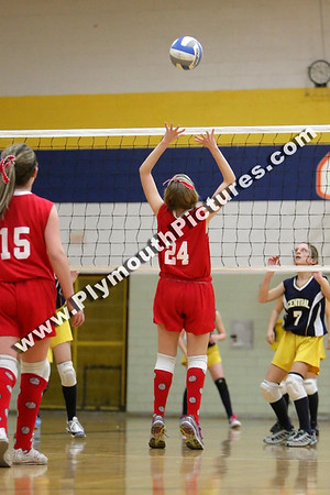 2012 - Volleyball - Central v. East - Dec 11
