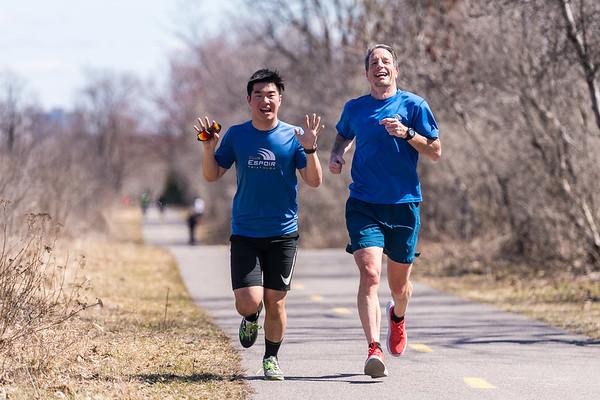 Eric Deshaies - 10 marathons, jour 5