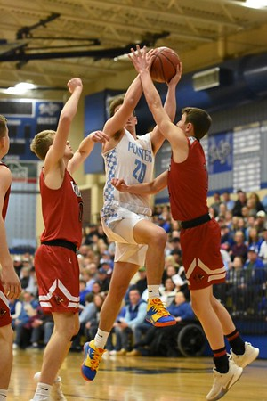 Darlington @ Mineral Point Boys Basketball 2-29-20
