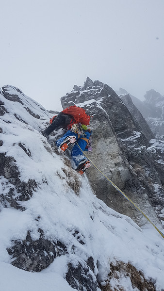 01 31 Mix climbing in Ratitovec