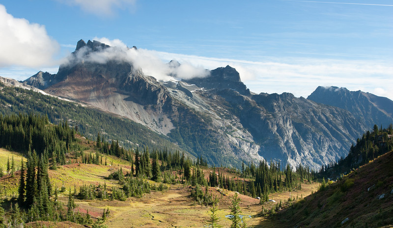 Bonanza Peak, Glacier Pk wilderness, Washington