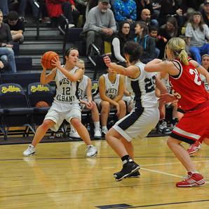 JV West Albany vs. South Albany Girls Basketball